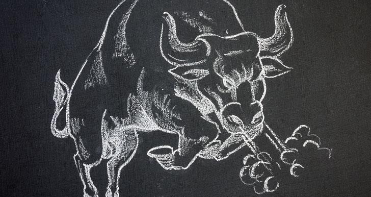 Angry Raging Taurus Bull