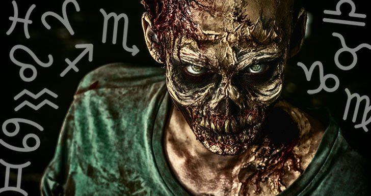Zodiac signs in a zombie apocalypse