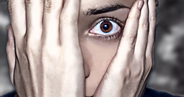 Anxiety ridden Aries woman
