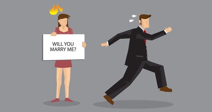 Afraid of commitment