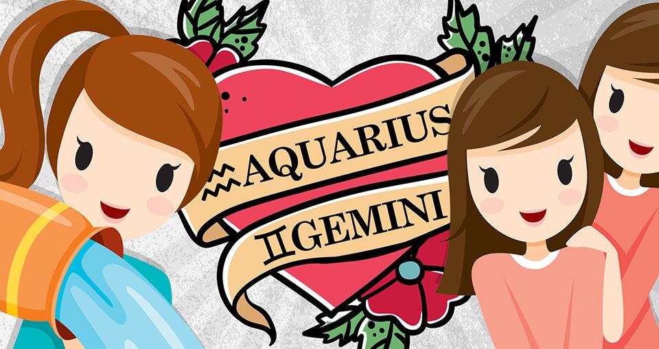 Aquarius geminis like why do Aquarius and