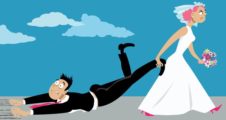 Reluctant marriage