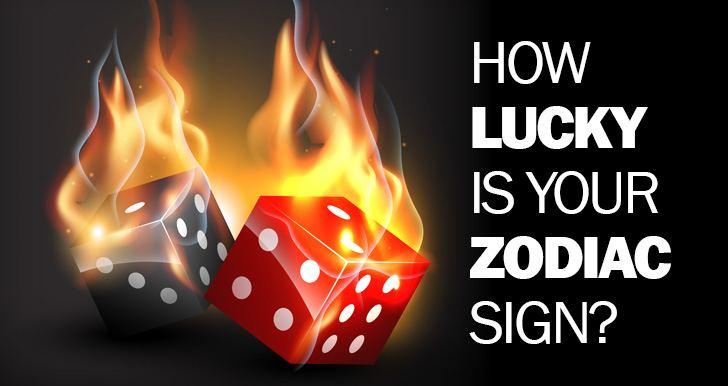 Lucky zodiac signs revealed
